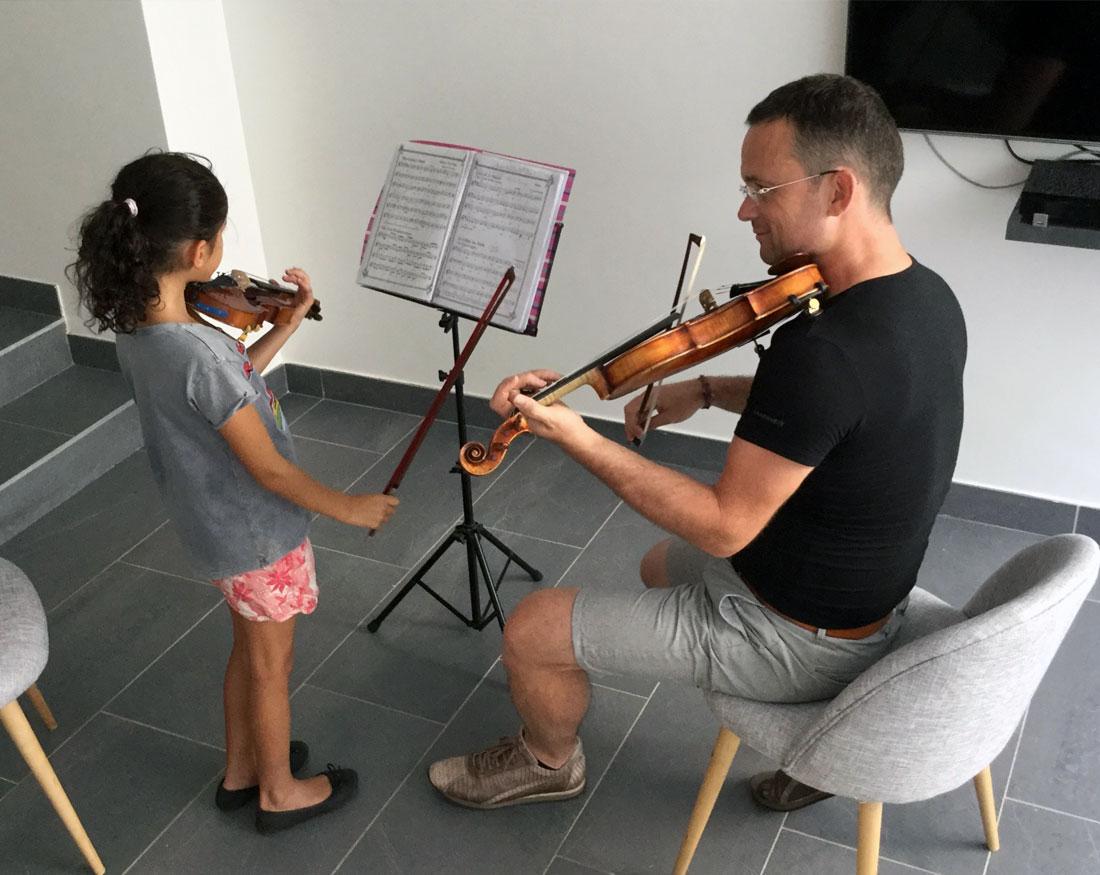Frederic Nouyrigat | Cours privé de violon à domicile